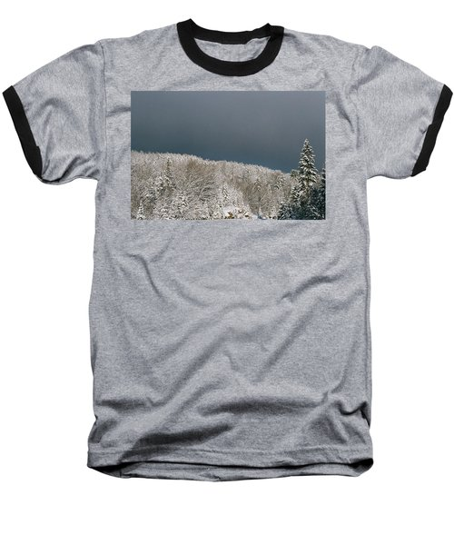 Baseball T-Shirt featuring the photograph Storm's A'brewin' by David Porteus