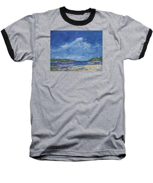Stormy Day At Picnic Island Baseball T-Shirt