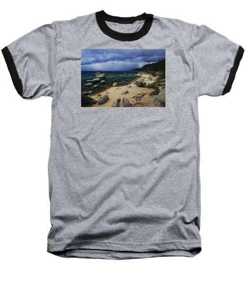 Baseball T-Shirt featuring the photograph Stormy Days  by Sean Sarsfield