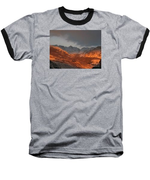 Baseball T-Shirt featuring the photograph Stormy Monday by Fiona Kennard