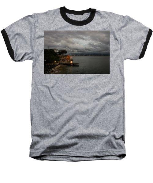 Baseball T-Shirt featuring the photograph Stormy Puerto Rico  by Georgia Mizuleva