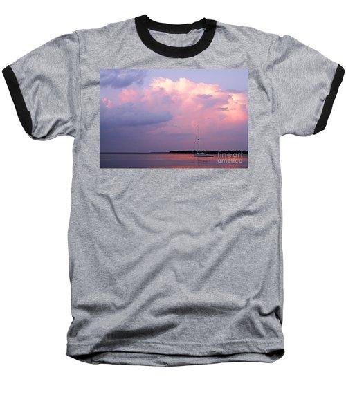 Stormy Seas Ahead Baseball T-Shirt