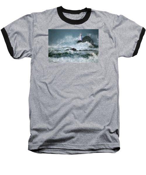 Stormy Seas Baseball T-Shirt
