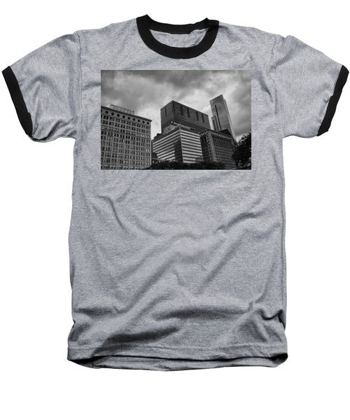 Baseball T-Shirt featuring the photograph Stormy Skies by Miguel Winterpacht