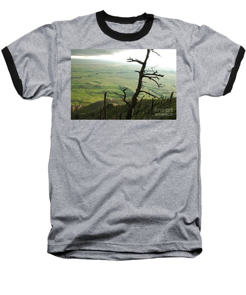 Baseball T-Shirt featuring the photograph Stormy Tree by Mary Carol Story