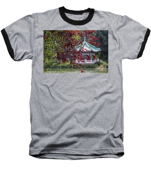 Stow Lake Pavilion Baseball T-Shirt