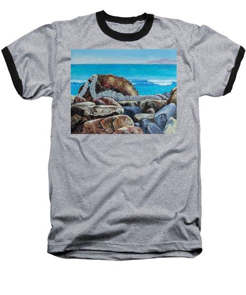 Stranded Baseball T-Shirt by Susan DeLain