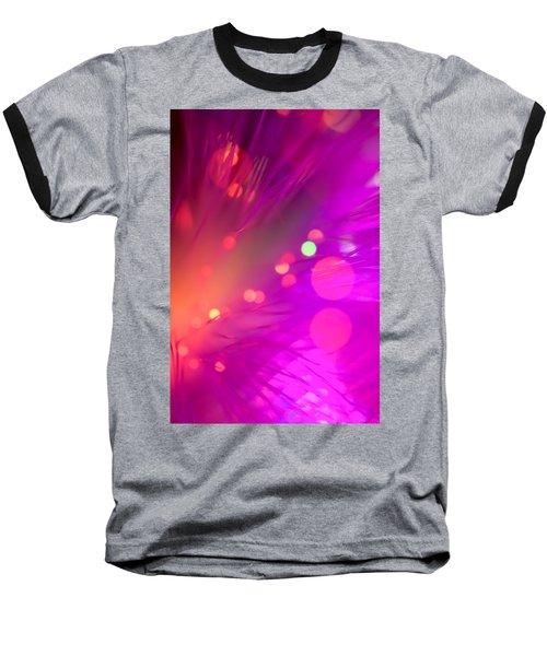 Strange Condition Baseball T-Shirt by Dazzle Zazz
