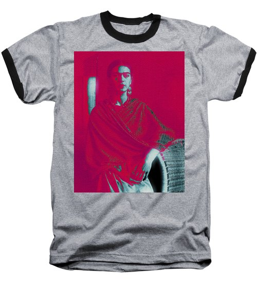 Strange Frida Baseball T-Shirt