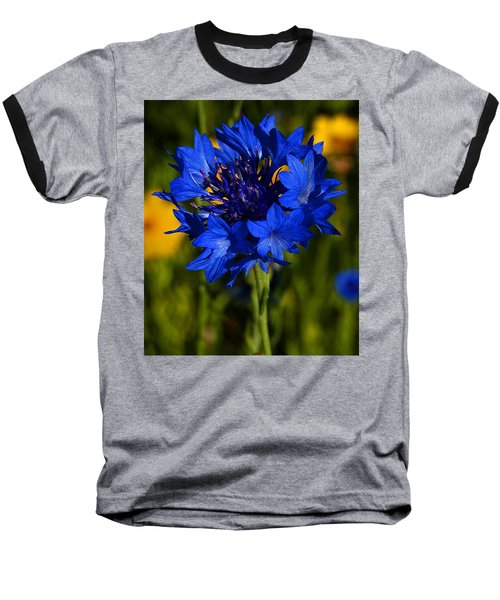 Straw Flower Baseball T-Shirt
