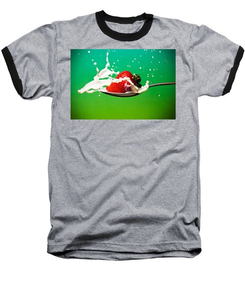 Strawberry Milk Baseball T-Shirt