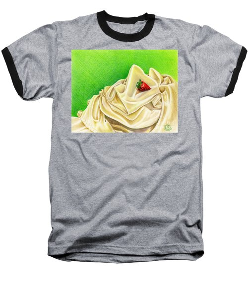 Strawberry Passion Baseball T-Shirt