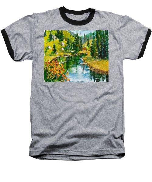 Strawberry Reservoir Baseball T-Shirt