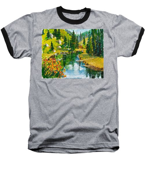 Strawberry Reservoir Baseball T-Shirt