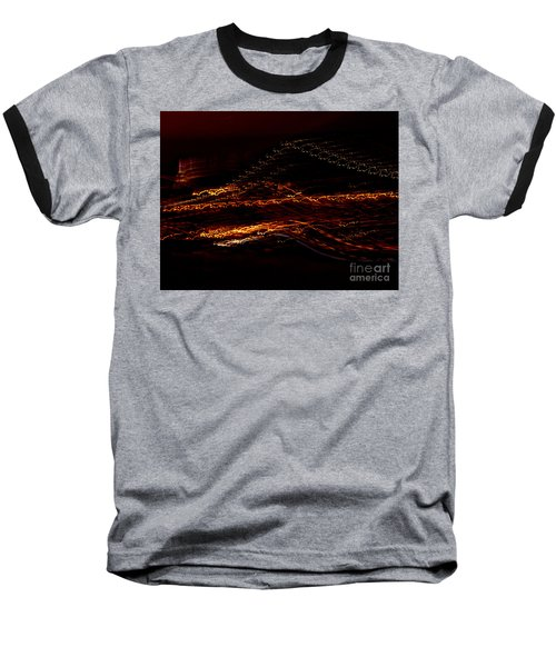 Streaks Across The Bridge Baseball T-Shirt