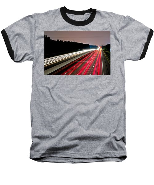 Streaks Of Light Baseball T-Shirt