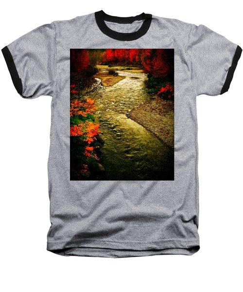 Baseball T-Shirt featuring the photograph Stream by Bill Howard
