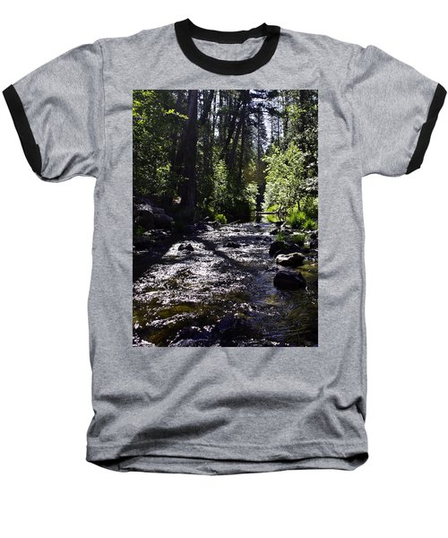 Baseball T-Shirt featuring the photograph Stream by Brian Williamson