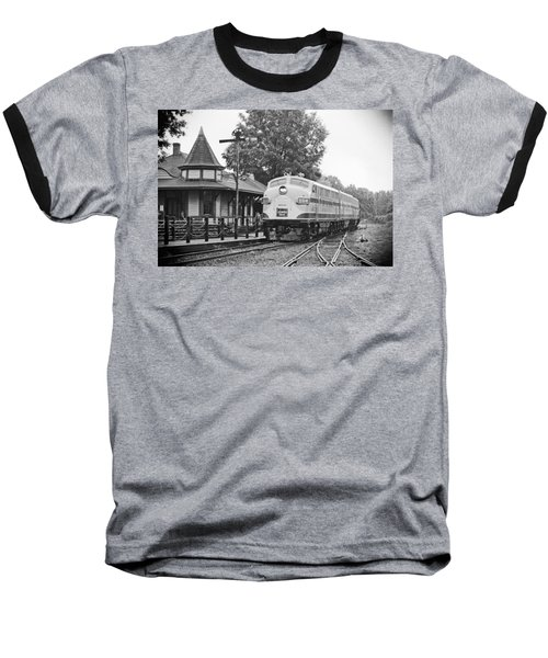 Streamliners Festival -- Post Process Baseball T-Shirt