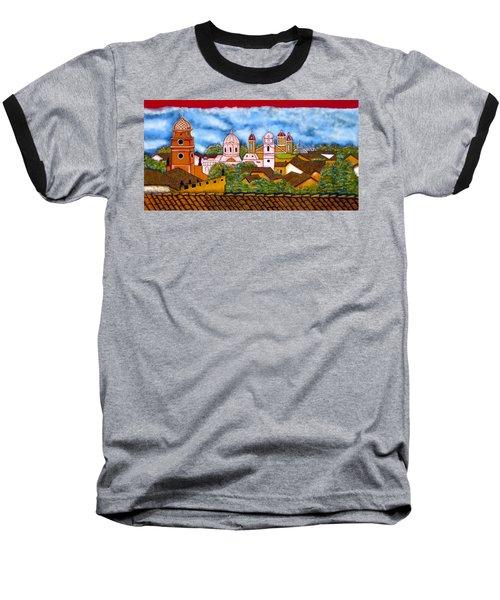 Street Art Granada Nicaragua 3 Baseball T-Shirt
