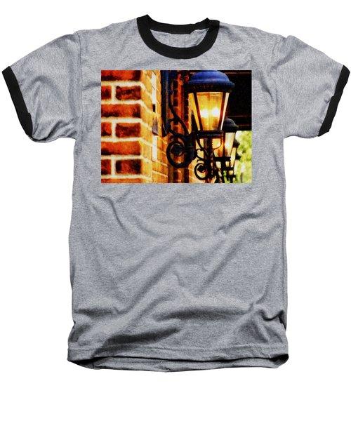 Street Lamps In Olde Town Baseball T-Shirt