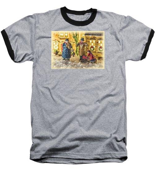 Street Musicians Baseball T-Shirt by Caitlyn  Grasso