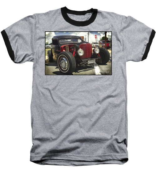 Baseball T-Shirt featuring the photograph Street Rod Truck by James C Thomas