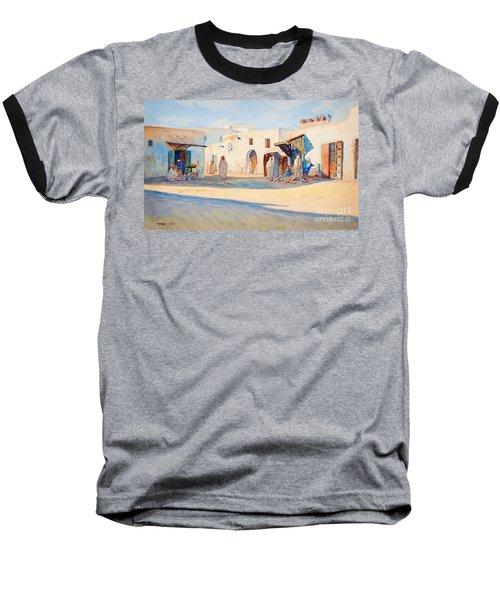 Street Scene From Tunisia. Baseball T-Shirt