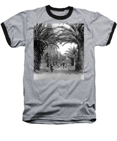 Avenue Of The Palms, San Francisco Baseball T-Shirt