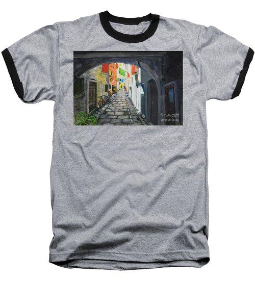 Street View 2 From Pula Baseball T-Shirt