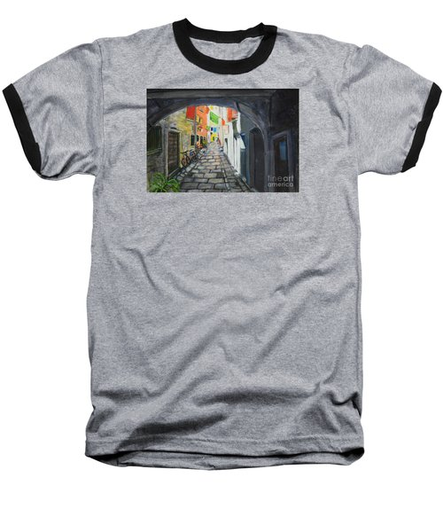 Street View 2 From Pula Baseball T-Shirt