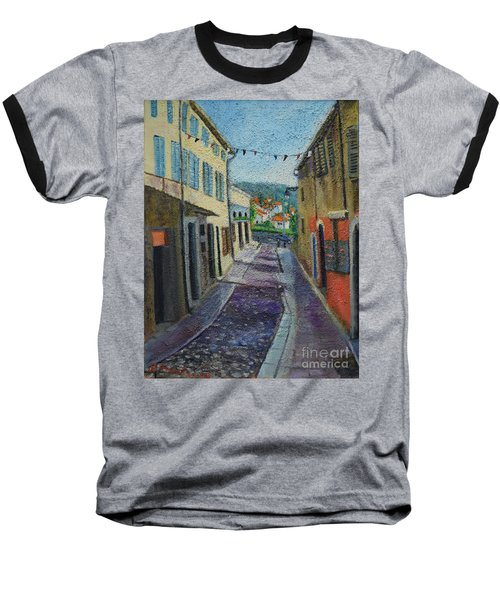 Street View From Provence Baseball T-Shirt
