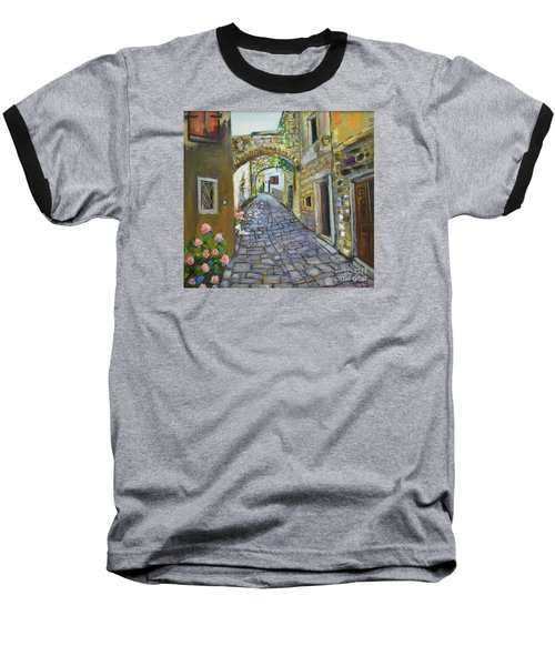 Street View In Pula Baseball T-Shirt