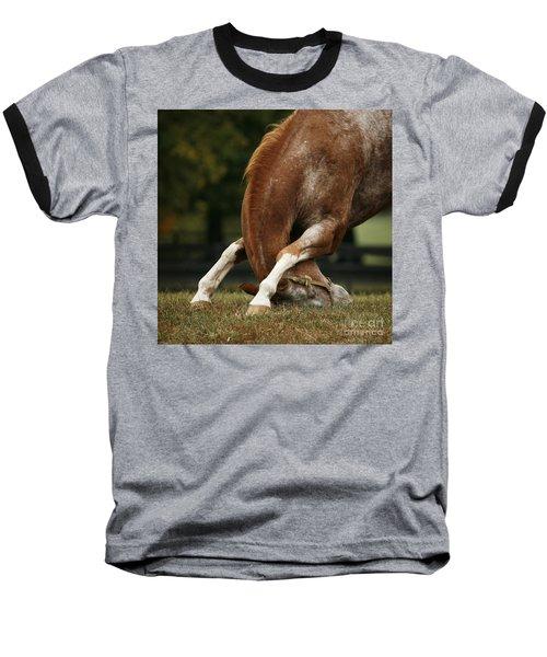 Stretching My Neck Baseball T-Shirt