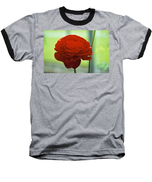 Baseball T-Shirt featuring the photograph Striking Red by Lana Enderle