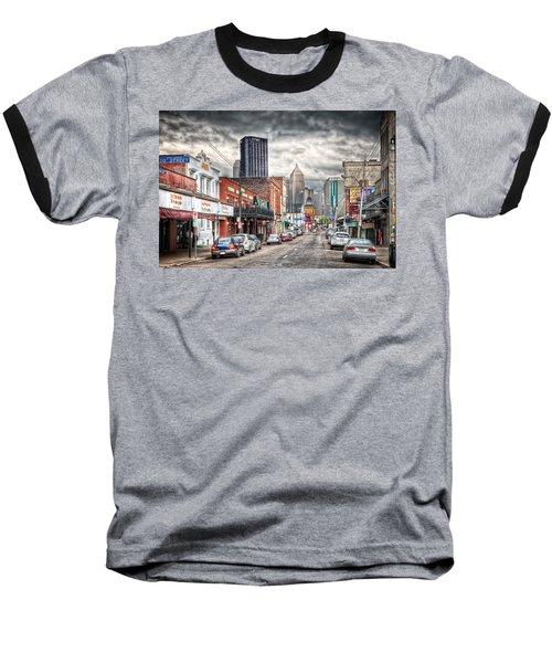 Strip District Pittsburgh Baseball T-Shirt by Emmanuel Panagiotakis