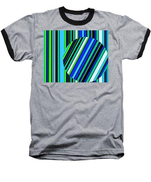 Striped Circle  C2014 Baseball T-Shirt