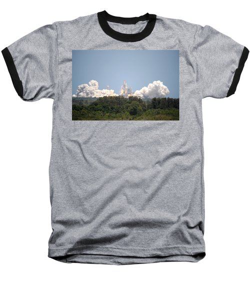 Baseball T-Shirt featuring the photograph Sts-132, Space Shuttle Atlantis Launch by Science Source
