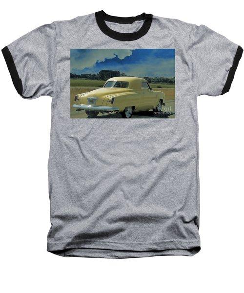 Studebaker Starlight Coupe Baseball T-Shirt by Janette Boyd