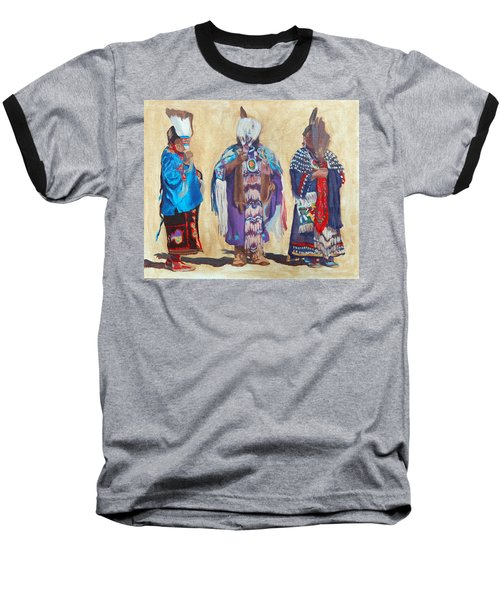 Study For The Three Sentinels Baseball T-Shirt