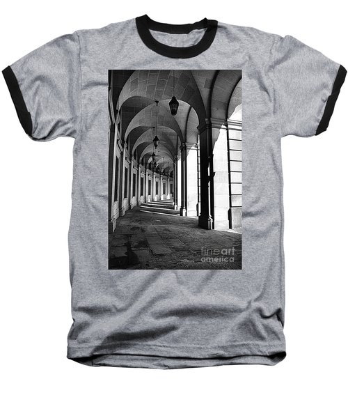 Baseball T-Shirt featuring the photograph Study In Black And White by John S