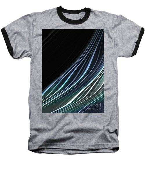 Study In Blues Baseball T-Shirt