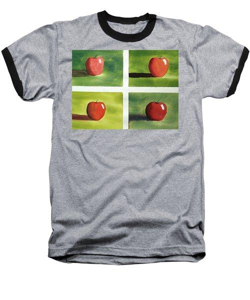 Study Red And Green Baseball T-Shirt by Richard Faulkner