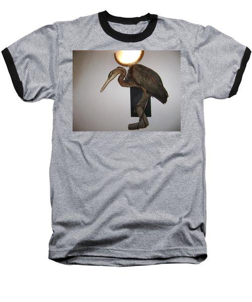 Stuffed Bird Baseball T-Shirt