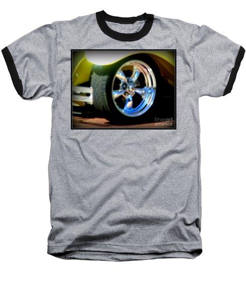 Baseball T-Shirt featuring the photograph Stylin' Wheels by Bobbee Rickard