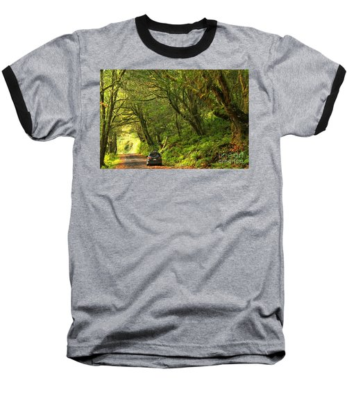 Subaru In The Rainforest Baseball T-Shirt
