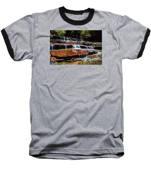 Subway Falls Baseball T-Shirt