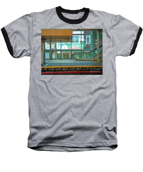 Subway Pizza Baseball T-Shirt