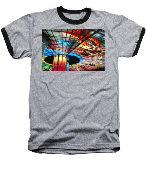 Subway Station Ceiling  Baseball T-Shirt