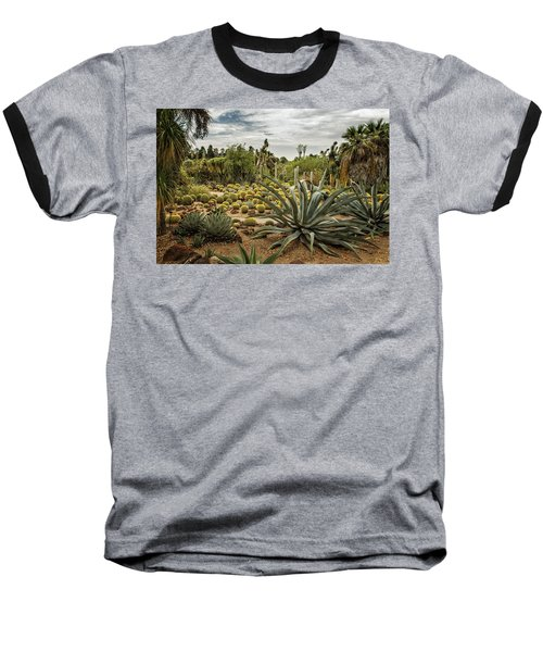 Baseball T-Shirt featuring the photograph Succulents At Huntington Desert Garden No. 3 by Belinda Greb